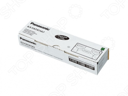 Тонер-картридж Panasonic KX-FAT411A7 тонер картридж panasonic kx fat403а7 kx fat403а7