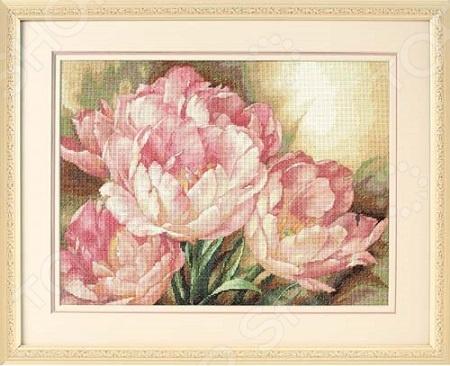 Канва для вышивания Dimensions «Трио тюльпанов»