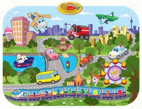 Коврик интерактивный музыкальный 1 TOY Т53072 Мой город Коврик интерактивный музыкальный 1 Toy Т53072 Мой город /