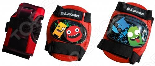 Защита роликовая Larsen Monsters ориентирована на детей, которые увлеклись катанием на роликах. Высокотехнологичные и прочные материалы, из которых изготовлена защита, предотвратят возможные травмы во время катания. Удобная система застежек-липучек позволяет быстро и легко надевать защиту. Поставляются в удобной сетчатой сумочке.