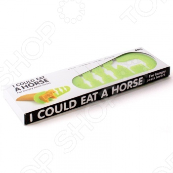 Мера для спагетти Doiy I could eat a horseМерные ложки. Стаканы<br>Мера для спагетти Doiy I could eat a horse отлично подходит для разделения спагетти, пасты и макарон на порции. Модель оснащена мерными делениями для мужчины, женщины и ребенка. У каждого своя порция, что не позволит допустить переедания. Если вы так голодны, что готовы съесть целую лошадь, то данная опция тоже присутствует. Выполнено из экологически чистого пластика, который не содержит вредных для человека добавок.<br>