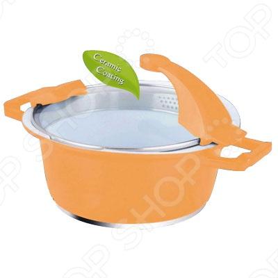 Кастрюля с крышкой BartonSteel BS-692Кастрюли<br>Кастрюля с крышкой BartonSteel BS-692 это объемная кастрюля с высококачественным покрытием прекрасно подходит для приготовления супов, жарки, пассировки и тушения. Благодаря специальному покрытию, в ней можно приготовить разнообразные блюда из мяса, рыбы, птицы и овощей практически не используя масло. Готовое блюдо получится не только вкусным, но и полезным.<br>