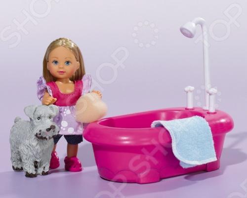 Кукла еви Simba с собачкой