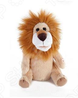 Мягкая игрушка интерактивная детская BONDIBON «Лев, который поет, танцует, веселит»