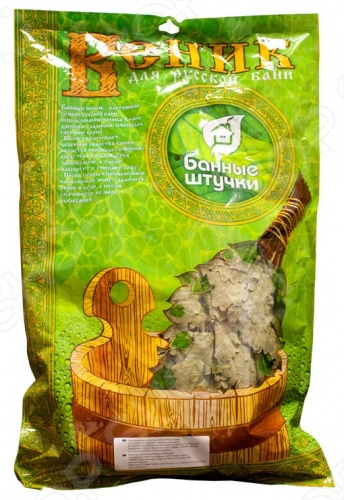 фото Веник Банные штучки дубовый с лавровым листом, Веники банные