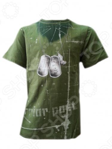 Футболка Warrior Poet BasicTraining T-ShirtФутболки для мальчиков<br>Линия Warrior Poet - это нечто большее, чем стильная одежда для мальчишек. Смелый крой, ткани, имитирующий тусклый блеск благородной стали, символы, сочетающие высокую поэзию древности с остроумием современных дизайнерских решений. Как гласит девиз компании, Мы создаем современную броню из одежды для нового поколения: мы поможем мечтать больше, идти дальше и выглядеть лучше . Материал 100 чесаный хлопок, без добавления синтетики. Если модели с модным сейчас приталенным силуэтом. По горловине идет вставка с лайкрой изнутри, чтобы воротник не растягивался и не деформировался. Края обработаны очень аккуратно. Цветовая палитра выше всяких похвал. Футболка Warrior Poet BasicTraining T-Shirt отлично впишется в детский гардероб. Модель из натурального хлопка обеспечит максимальный комфорт в течение дня. Футболка насыщенного зеленого цвета декорирована урбанистическим принтом. Футболка Warrior Poet BasicTraining T-Shirt является ярким представителем стиля casual. Сейчас она особенно популярна и выполнена из экологически чистых и безопасных материалов и красок. Грамотный крой и высококачественный хлопок обеспечивают хорошую посадку по фигуре. Декоративно обработанные швы придают изделию стильное внешнее оформление.<br>