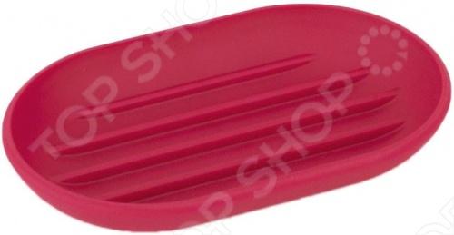Мыльница Umbra Touch представляет собой функциональный и, одновременно стильный аксессуар, который убережет вашу раковину от отвратительных мыльных подтёков. Мыльница изготовлена из приятного на ощупь пластика, который не скользит, а брать из нее мыло удобнее благодаря специальным желобкам на донышке.