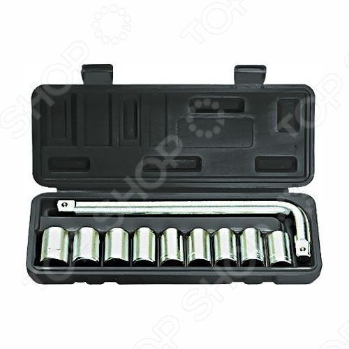 Набор торцевых головок SPARTA из 9 предметов набор торцевых головок stanley и комбинированных ключей 40 предметов 1 99 056