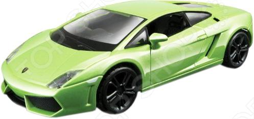 Модель автомобиля 1:32 Bburago Lamborghini Gallardo LP560-4 2008Модели авто<br>Модель автомобиля 1:32 Bburago Lamborghini Gallardo LP560-4 2008 представляет собой коллекционную модель, являющуюся точной копией настоящего автомобиля. Большая достоверность и похожесть настоящего транспортного средства обеспечивается наличием всех деталей, которые есть в реальной жизни: зеркалами заднего вида, выхлопной трубой, фарами, открывающимися дверями. Она будет прекрасным подарком для вашего малыша, так как это не только игрушка, но и полезная вещь, во время игры с которой у ребенка развивается мелкая моторика рук, воображение и фантазия.<br>