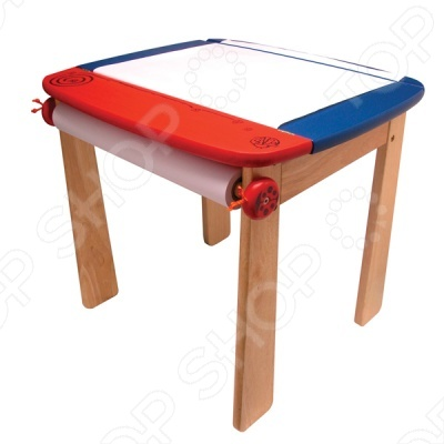 Стол для рисования с держателем и контейнером I 39;m toy 42023 понравится каждому малышу. Удобный столик для рисования и других занятий творчеством с открывающейся столешницей. У него устойчивая конструкция и безопасные закруглённые углы. Теперь рисовать или заниматься любимым делом станет еще проще.