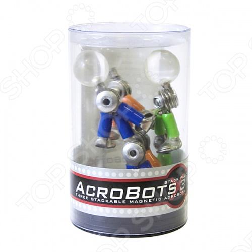 Акробот Acrobot 3 в 1 - это составная часть магнитного конструктора, состоящая из 3-х частей. Ее можно поставить в офисе, дома, подарить друзьям или коллегам. Забавная, неординарная игрушка. Для тех, кто коллекционирует магнитики, Акробот Acrobot станет любимым экспонатом. Игрушка подарит веселье и задорный смех.