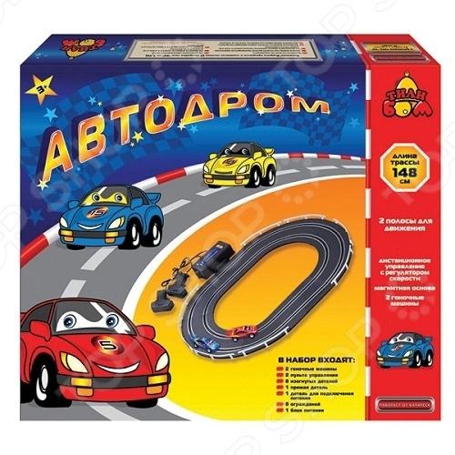 Автодром игрушечный Тилибом Т80433 Т80433