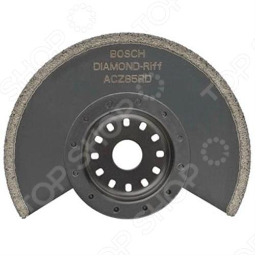 Диск пильный сегментный Bosch Diamant-RIFF ACZ 85 RD bosch bosch acz 85 eb лопасть вентилятора 2608661636