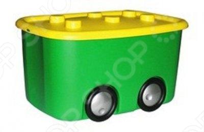 Ящик для игрушек М ПЛАСТИКА «Моби»