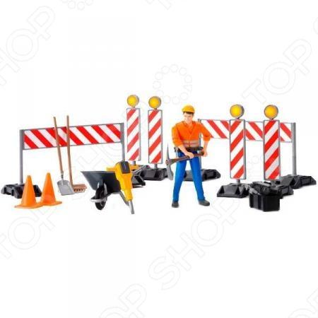 Zakazat.ru: Игровой набор Bruder Набор знаков дорожных работ 62-000