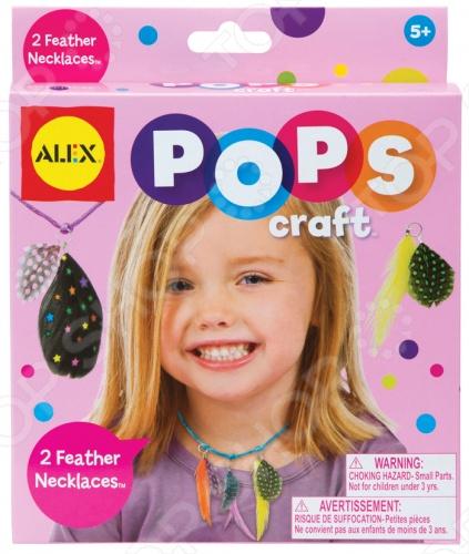 Набор для создания украшений ALEX «Ожерелья с цветными перышками» Набор для создания украшений Alex «Ожерелья с цветными перышками» /