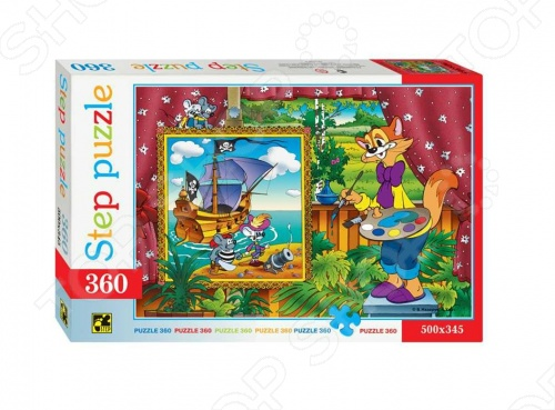 Пазл 360 элементов Step Puzzle Кот Леопольд пазл 360 элементов step puzzle кот леопольд