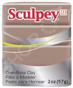 Пластик полимерный Polyform Products Company Sculpey lll - это идеальная глина для всех, кто любит творчество. Этот популярный вид глины позволяет добиться хорошей детализации, а готовое изделие легко поддается обработке. После обжига глина Sculpey III приобретает матовую поверхность сухой бисквит . С гаммой из 44 ярких цветов Sculpey III отлично подходит для изготовления фигурок и предметов интерьера.
