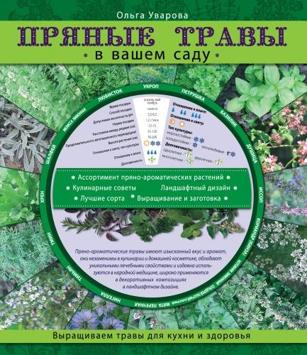 Пряные травы в вашем садуСадовое цветоводство<br>Пряные травы незаменимы в домашней кулинарии и косметике. Их изысканный вкус и аромат, уникальные лечебные свойства и эффектный декоративный облик дают широкую сферу применения - не только в качестве приправы, но и в народной медицине, в ландшафтном дизайне. Устройте в саду или дома ароматический огород - и воздух наполнится чудесными ароматами, стресс уйдет, настроение улучшится! В книге представлен максимально полный ассортимент пряно-ароматических растений, лучшие сорта, полезные советы, все о выращивании и заготовке.<br>