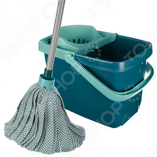 фото Ведро для мытья полов с насадкой для отжима и швабра-моп Leifheit CLASSIC MOP COMBI 56791, Швабры и щетки