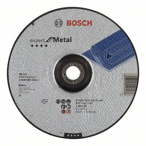 Диск отрезной Bosch Expert for Metal 2608600225 диск