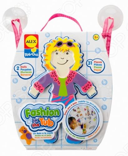 Набор фигурок-стикеров для ванны Alex «Одень куклу» умка сказочная мода одень куклу 50 наклеек