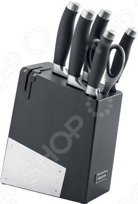 Набор ножей Nadoba Rut набор из 5 кухонных ножей с блоком nadoba jana 723117