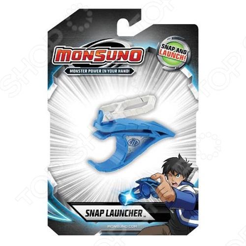 Устройство пусковое мини MonsunoНастольные игры<br>Устройство пусковое мини Monsuno портативное пусковое устройство мини, крепящееся к поясу. С его помощью можно легко и просто запускать капсулы Монсуно.<br>