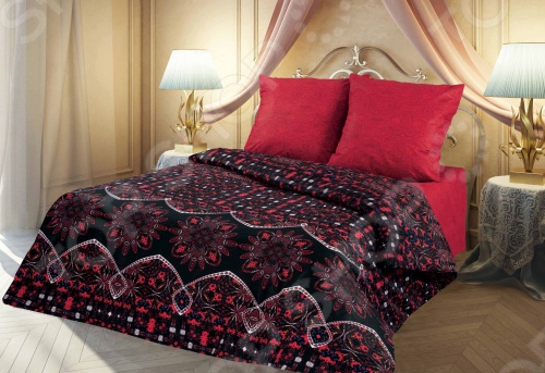 Комплект постельного белья Романтика Пламя страсти
