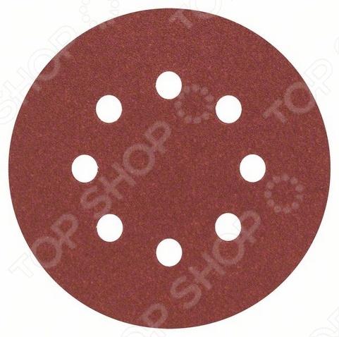 Набор листов для эксцентриковой шлифмашины Bosch Best for Wood, 8 отверстий, 5 шт. тарелка the hundred acre wood 8 5 bm1257