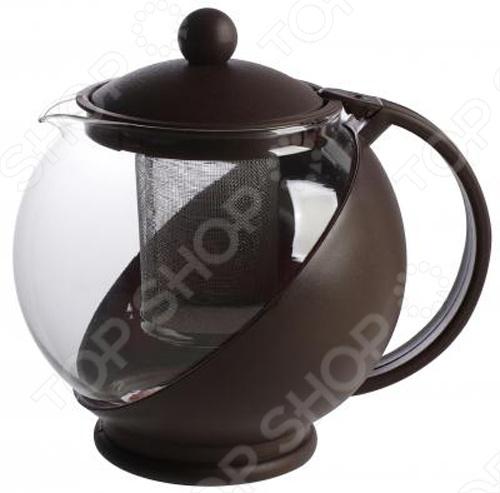 Чайник заварочный Irit KTZ-125-003Чайники заварочные<br>Любите заваривать вкусный чай Тогда вам не обойтись без заварочного чайника Irit KTZ-125-003 объемом 1,25 литра. Корпус изготовлен из термостойкого не нагревающегося пластика и ударостойкого жаропрочного стекла. Также имеется фильтр из высококачественной хромо-никелевой нержавеющей стали.<br>