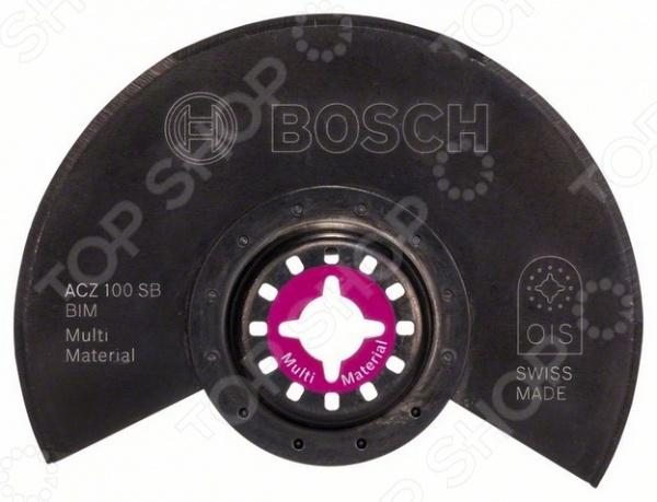 Нож-диск сегментированный Bosch ACZ 100SB BiM bim and the cloud