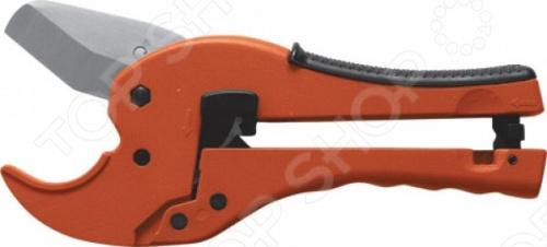 Ножницы для металлопластиковых трубок FIT 70985Болторезы. Ножницы<br>Ножницы для металлопластиковых трубок FIT 70985 это отличные ножницы для резки трубок из пластика и металлопластика. Максимальный диаметр трубки: 42 мм. Лезвия выполнены из инструментальной стали. Перед началом работы необходимо снять фиксатор и развести рукояти ножниц для раскрытия лезвий. Сжимая рукояти до щелчка храпового механизма несколько раз можно приступать к резке трубок.<br>