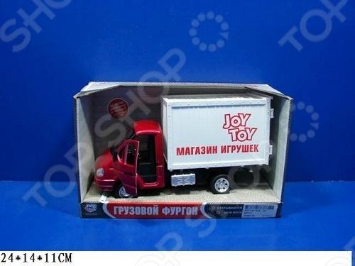 Машина инерционная Joy Toy «Газель фургон Игрушки» Р40519 гтц на газель бизнес