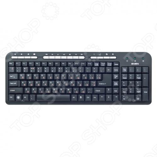 Клавиатура Sven Standard 309M клавиатура sven standard 309m usb черный