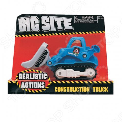 Трактор с ковшом Keenway «Construction»Машинки<br>Трактор с ковшом Keenway Construction - отличная игрушка трактор, подойдет для игры как в доме, так и на улице в песочнице. Игрушка готова подарить вашему малышу отличное времяпрепровождение за игрой. Отличный вариант для пополнения коллекции качественных игрушек.<br>