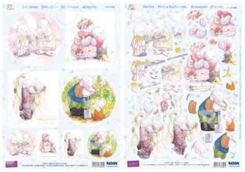 фото Аппликация вырубная и фон для рисунков Reddy Creative Cards «Каждый день» №6, купить, цена