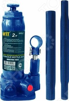Домкрат гидравлический бутылочный FIT домкрат гидравлический бутылочный sparta 2т 148 278мм 50321