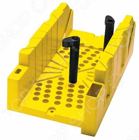 Стусло STANLEY 1-20-112 стусло stanley 1 20 800 для плотницких работ с ножовкой 560мм