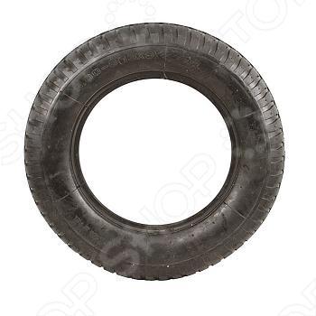 Шина запасная для колеса Fit является запасным элементом для колеса строительной тачки. Рабочее давление составляет 2 атмосферы, а максимальное 3.2 атмосферы. Изготовлена из резины.