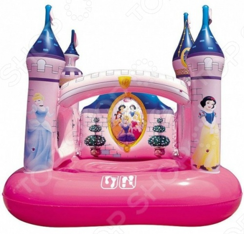 Замок игровой надувной Bestway 91050 bestway замок принцессы диснея 91050