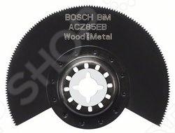 Диск пильный сегментированный Bosch BIM ACZ 85 EB