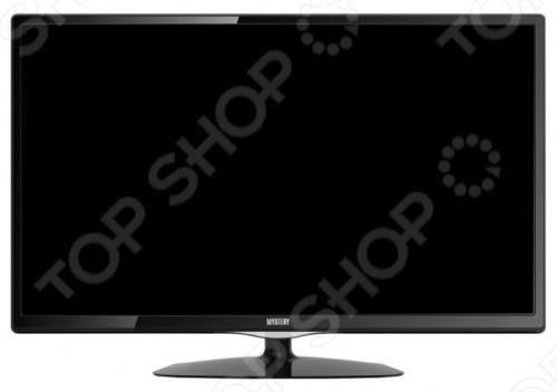 Телевизор LED Mystery MTV-3023LT2ЖК-телевизоры и панели<br>Телевизор LED Mystery MTV-3023LT2 отличное решение для просмотра любимых телепрограмм и фильмов. Кроме того, встроенный медиаплеер позволяет воспроизводить поддерживаемые файлы с USB-накопителей. Телевизоры со светодиодной подсветкой LED отличаются улучшенной цветопередачей сочные реалистичные цвета и пониженным энергопотреблением.<br>
