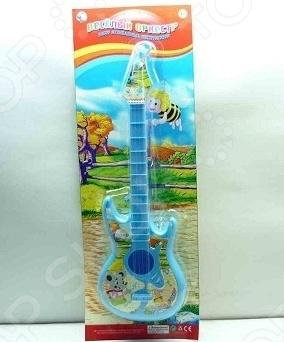 фото Игрушка-гитара Tongde «Веселый оркестр» В71614, Игрушечные музыкальные инструменты