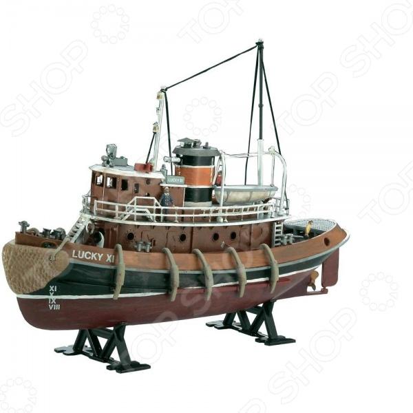 Сборная модель портового буксира Revell Harbour Tug Boat
