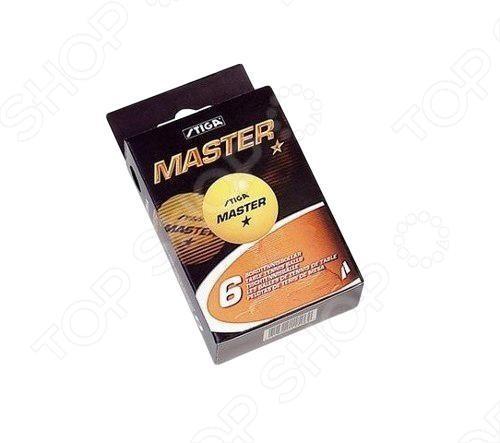 Мячи для настольного тенниса ATEMI 1* оранжевые, 6 шт.