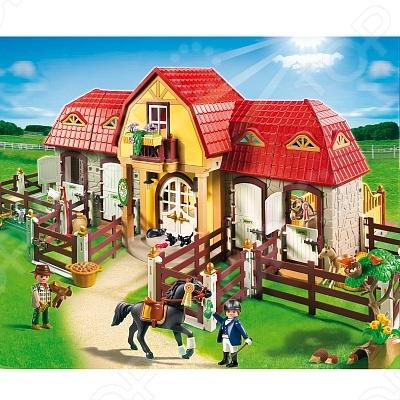фото Лошади:Большая конюшня Playmobil 5221 5221pm, Другие виды конструкторов