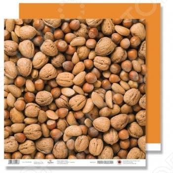 фото Бумага для скрапбукинга Rayher «Орешки», купить, цена