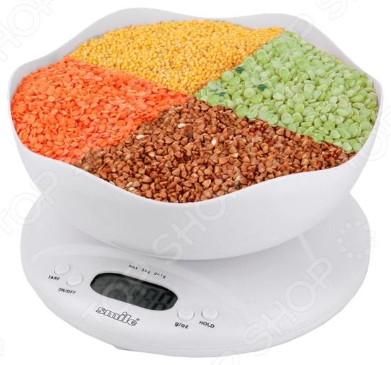 Весы кухонные Smile KSE 3211 smile kse 3216