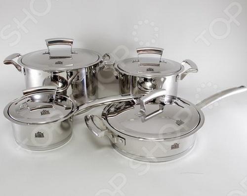 Набор кухонной посуды Stahlberg KORNELIA 1804-S кастрюля 0 24 л stahlberg 2250 s